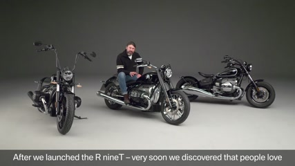 The new BMW R 18. Interview Roland Stocker, Projec