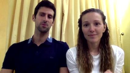 Djokovic pledges one million euros to help fight coronavirus in Serbia