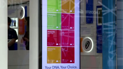 Can a DNA app help you shop healthy?