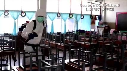 Authorities close, disinfect Bangkok school after student tests positive