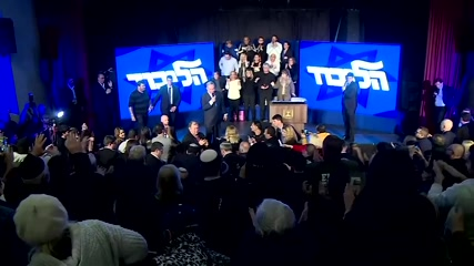 Netanyahu takes center stage in Israeli election