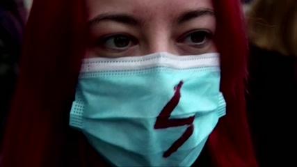 Polish women strike 'to fight' abortion ruling