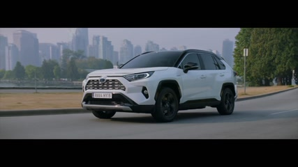 2019 Toyota RAV4 Driving in the country