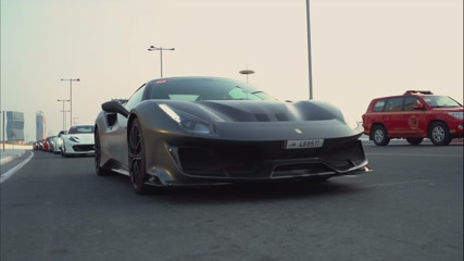 Ferraristi in Qatar experience the all new Ferrari F8 Tributo for the first time at Losail International Circuit