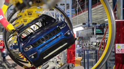 New line of production of Jeep Compass @ FCA Melfi Plant - Interview with Marco Pigozzi