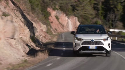 2019 Toyota RAV4 Driving in Barcelona