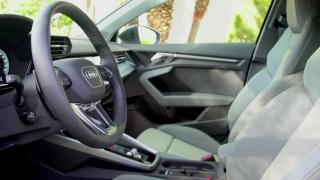 The new Audi A3 Sportback Interior Design in Manhattan Grey