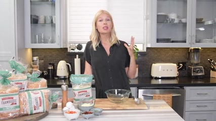 Quick and Easy Omelette Sandwich Hack Tutorial with @Pepperidge Farm!! So Yummy