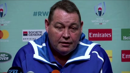 All Blacks' Hansen fires shot at Six Nations to do more for global game