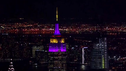 Empire State Building lights up for Kobe Bryant