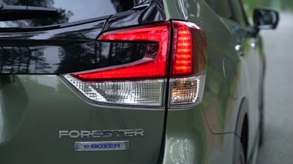 The new Subaru Forester ECO HYBRID Trailer