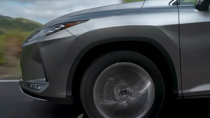 2020 Lexus RX 450h Luxury silver Driving Video