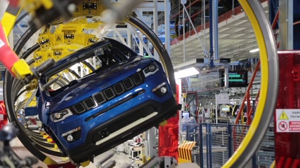 New line of production of Jeep Compass @ FCA Melfi Plant - Interview with Roberto Di Stefano