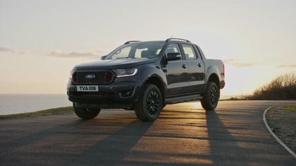 The new Ford Ranger Thunder Design