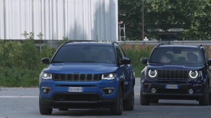The new Jeep Renegade 4xe S and Compass 4xe S Driving Video