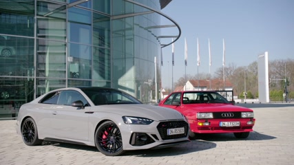The new Audi RS 5 Coupé Cutaway