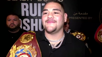World heavyweight champion Andy Ruiz ready for weekend rematch with Anthony Joshua in Saudi Arabia