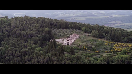 Drone footage captures superb landscapes of Tuscany
