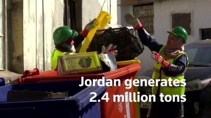 Tiny Jordanian village pioneers successful recycling program