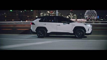 Toyota RAV4 Night Driving in the city