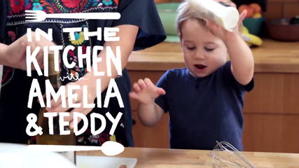 In The Kitchen with Amelia & Teddy California Roll Salad