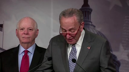 Bolton revelations 'erased' any excuse for not calling witnesses -Schumer