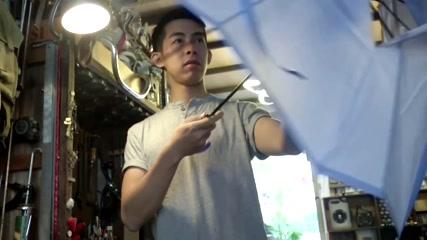 Hong Kong designer turns protest umbrellas into instruments
