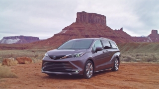2021 Toyota Sienna Platinum Preview