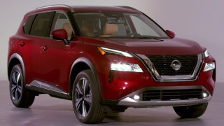 2021 Nissan Rogue Design preview in Studio