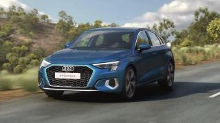Audi A3 Sportback - 48V mild hybrid system Animation